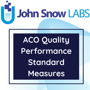 ACO Quality Performance Standard Measures