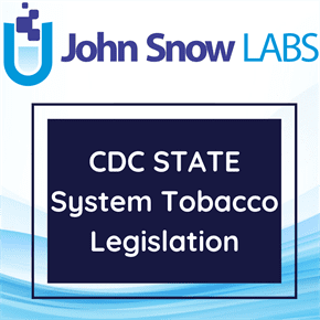 CDC STATE System Tobacco Legislation
