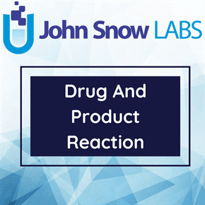 Drug And Product Reaction