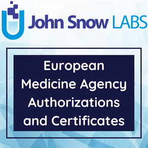 European Medicine Agency Authorizations and Certificates