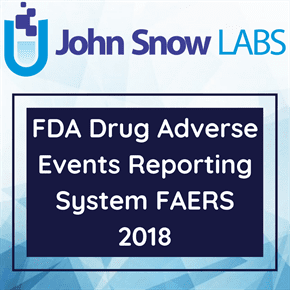 FDA Drug Adverse Events Reporting System FAERS 2018