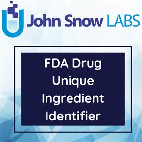 FDA Drug Unique Ingredient Identifier