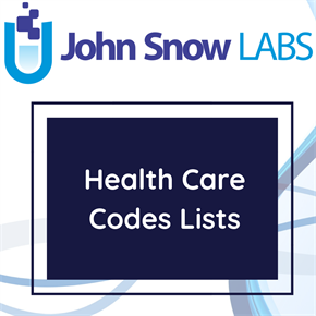 Health Care Codes Lists