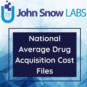 National Average Drug Acquisition Cost Files