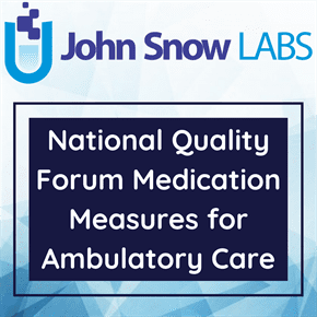 National Quality Forum Medication Measures for Ambulatory Care
