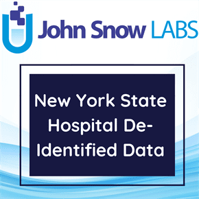New York State Hospital De-Identified Data