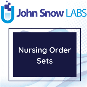 Nursing Order Sets