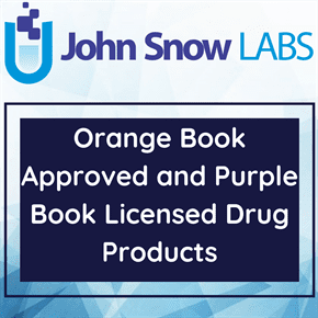 Orange Book Approved and Purple Book Licensed Drug Products
