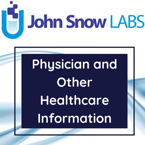 Physician and Other Healthcare Information