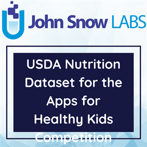 USDA Nutrition Dataset for the Apps for Healthy Kids Competition