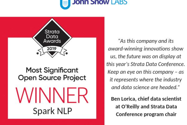 John_Snow_Labs_NLP_Award_Strata_Data